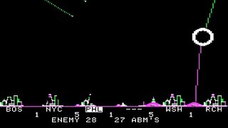 Apple II Longplay - ABM (1980) by Muse Software