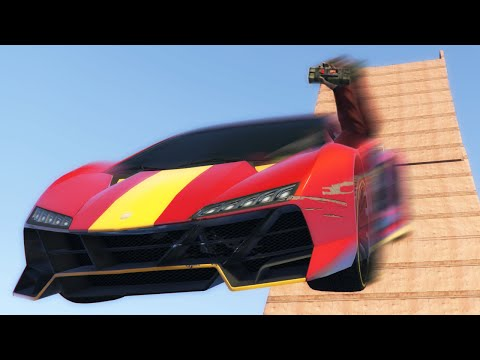 FASTEST RAMPS IN THE WORLD!? (GTA 5 Funny Moments)