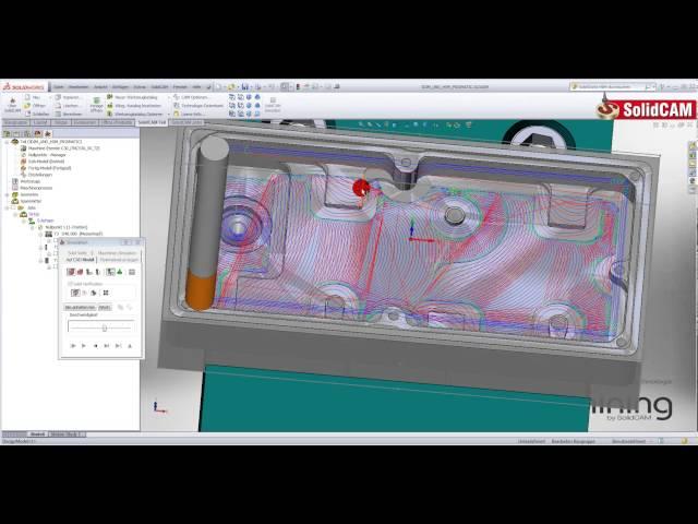 iMachining 3D und HSM Prismatisches Teil