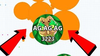 Agar.io Maddest Team Pro Dominating Agar.io Mobile Gameplay