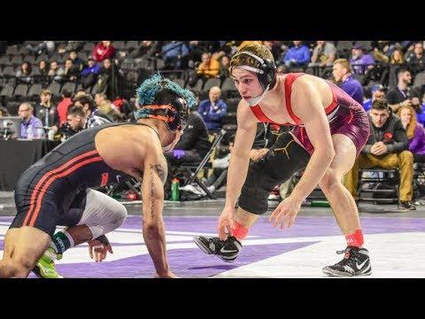 Spencer Lee (Iowa) vs. Ronnie Bresser (Oregon State) - 2017 Midlands