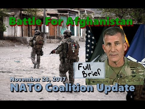 BATTLE Against TALIBAN: FULL Brief On Progress Of Afghanistan Resolute Support Mission.