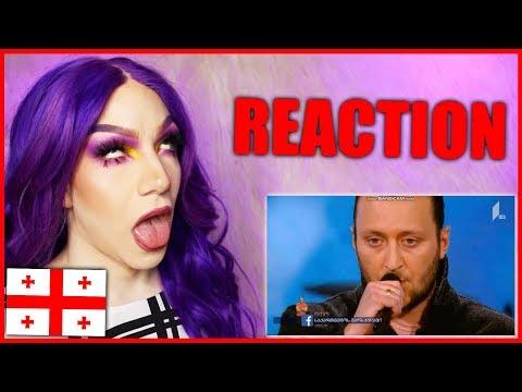 GEORGIA - Oto Nemsadze - Sul tsin iare | Eurovision 2019 Reaction