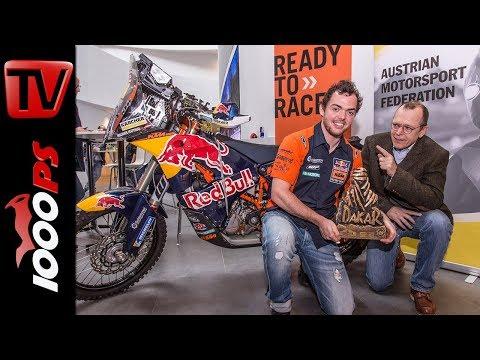 Rallye Dakar 2018 Sieger Matthias Walkner im Interview - KTM siegt zum 17. Mal