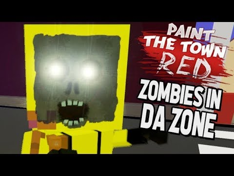 Paint The Town Red Gameplay German - Zombies in der Zone