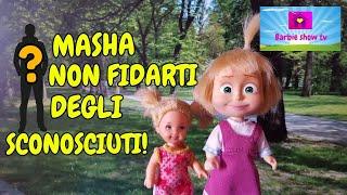 Le avventure di MASHA EP.42:MASHA NON FIDARTI DEGLI SCONOSCIUTI!