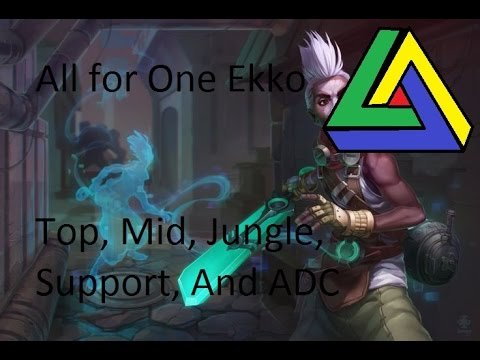 League of Legends - special mode - all for one - Ekko