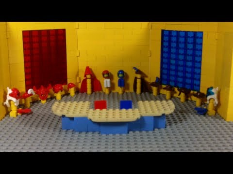 How To Build: LEGO News Room & Desk (NNN)