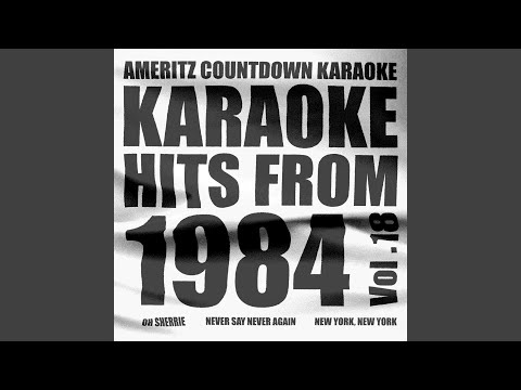 Never Say Never Again (In the Style of Lani Hall) (James Bond: Never Say Never Again) (Karaoke...