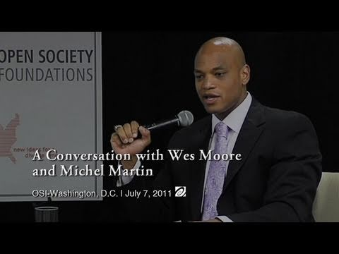 A Conversation with Wes Moore and Michel Martin