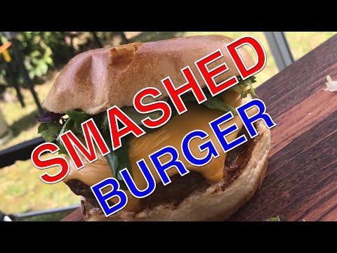 SMASHED BURGER vom Grill --- Klaus grillt