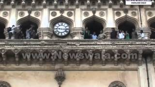Actor Akshay Kumar visited Charminar, Hyderabad