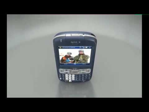 Palm Treo 800w Commercial