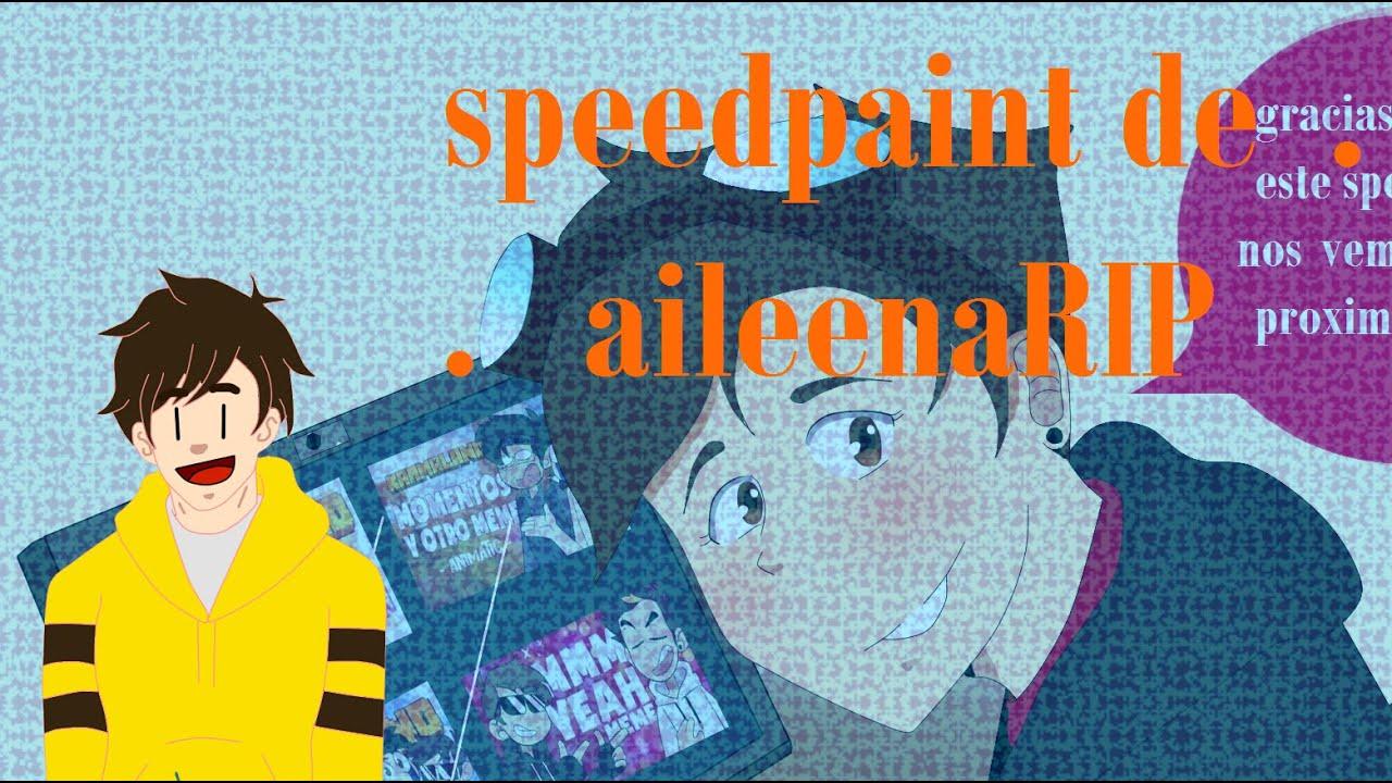Speedpaint para (aileenaRIP) dibujante y animadora #karmaland4