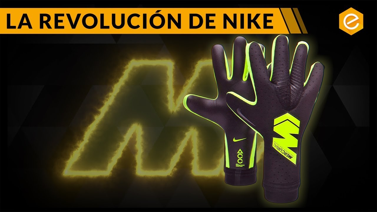 Descubrimiento Agresivo encuentro  Guantes Nike MERCURIAL TOUCH Elite - Review completa - YouTube