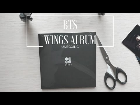 [UNBOXING] BTS - Wings Album