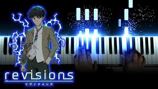 """[Revisions リヴィジョンズ OP] """"Wagamama de Gomakasanai de / ワガママで誤魔化さないで"""" - THE ORAL CIGARETTES (Piano)"""