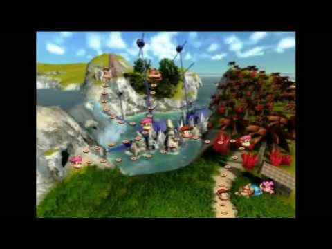 PC - Donkey Kong Country 4: The Kong's Return Demo 100% - 103% (9% - 13%) SpeedRun in 14:57 by VELHO