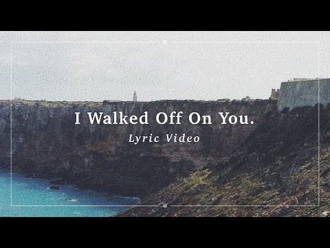 Ben Zaidi – I Walked Off On You. (Lyric Video)