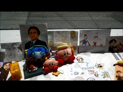 Satoru Iwata Memorial at Nintendo World