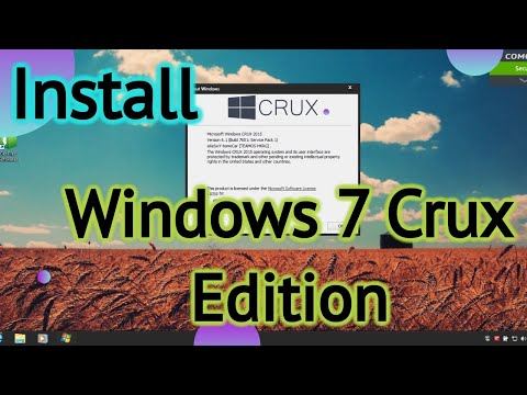 Windows 7 Crux Edition Overview