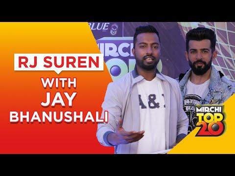 mirchi-top-20-|-jay-bhanushali-on-bollywood-songs-in-real-life-|-rj-suren-|-radio-mirchi