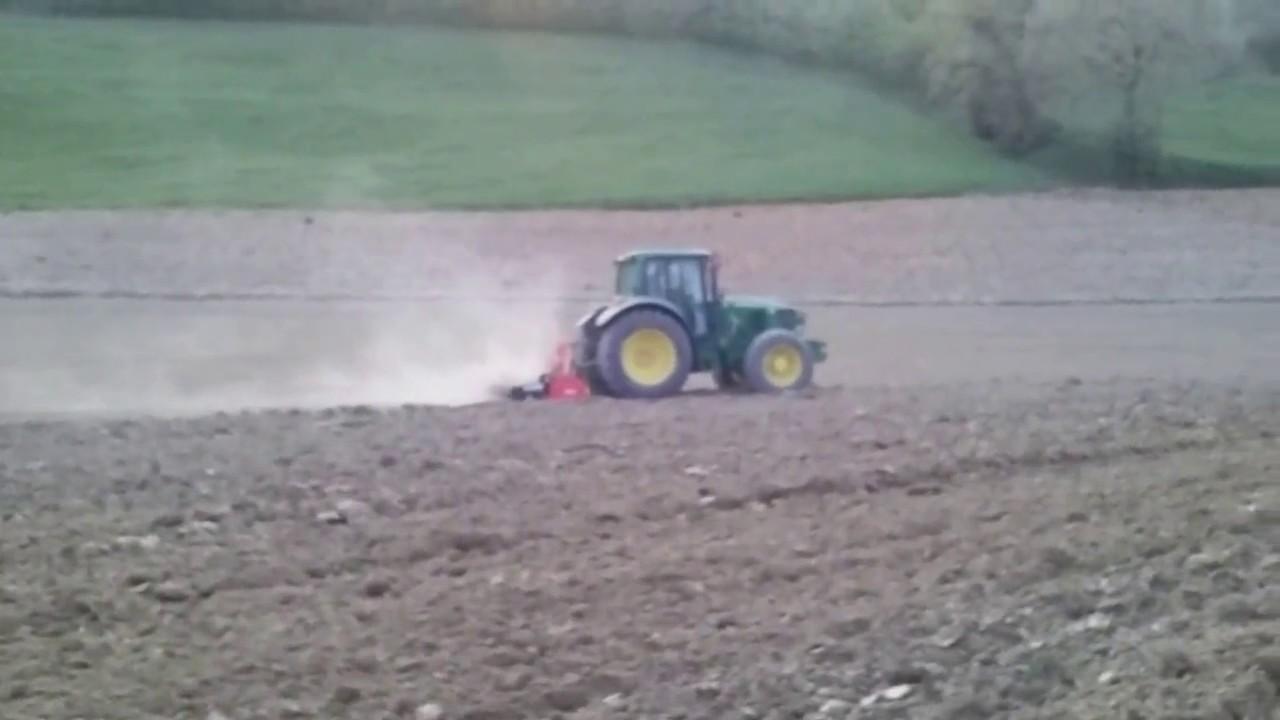 Preparazione letto di semina per i girasoli youtube - Letto di semina ...