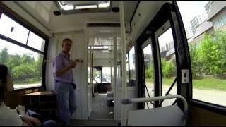 """Автошкола """"Автопилот"""", Мытищи, экзаменационный маршрут на автобусе."""