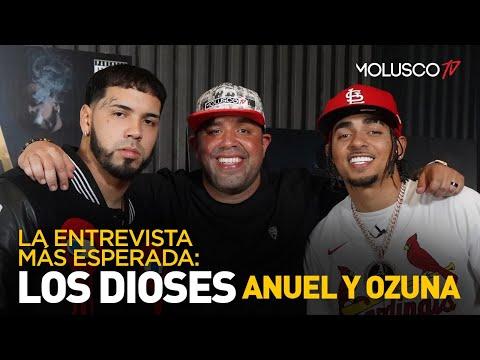 """Anuel y Ozuna: La entrevista más reveladora y cómica que verás de """"Los Dioses"""""""
