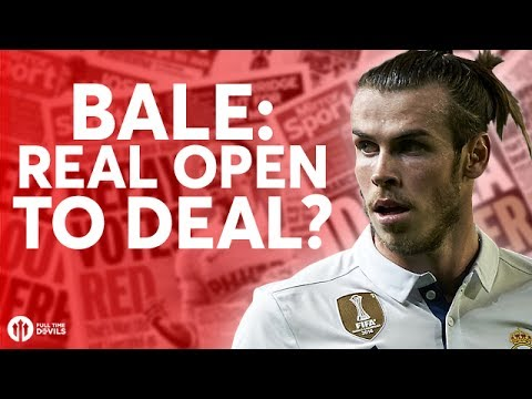 Gareth Bale: Real Madrid Open to Deal? Tomorrow's Manchester United Transfer News Today! #4