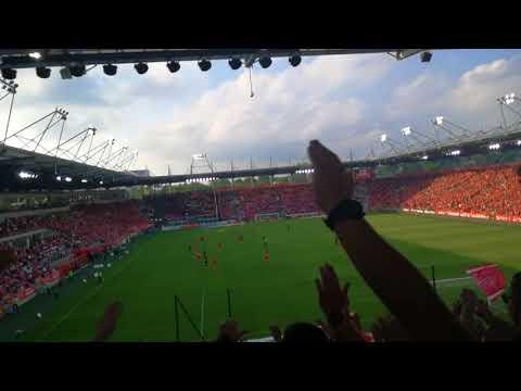 Widzew Łódź 2:0 Polonia Warszawa  l  Sektorówka.