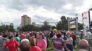 татарская дискотека на Сабантуе 2016 Тюмень