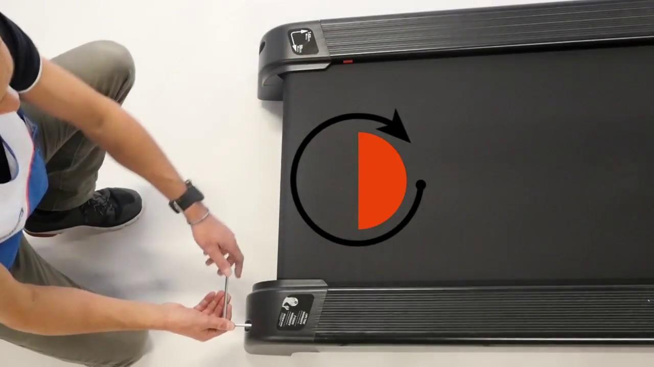 comment regler le centrage de la bande sur votre tapis de course
