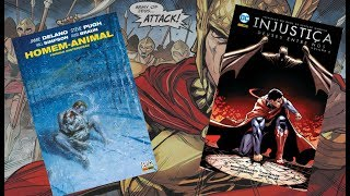 Homem-Animal Formas Misteriosas / Injustiça vol 8