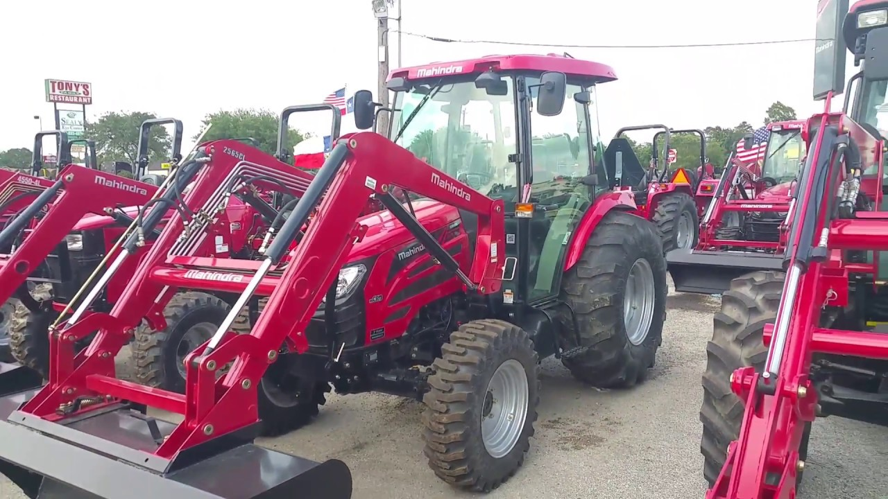 Four Wheel Drive Taxi : Mahindra four wheel drive cab tractor youtube