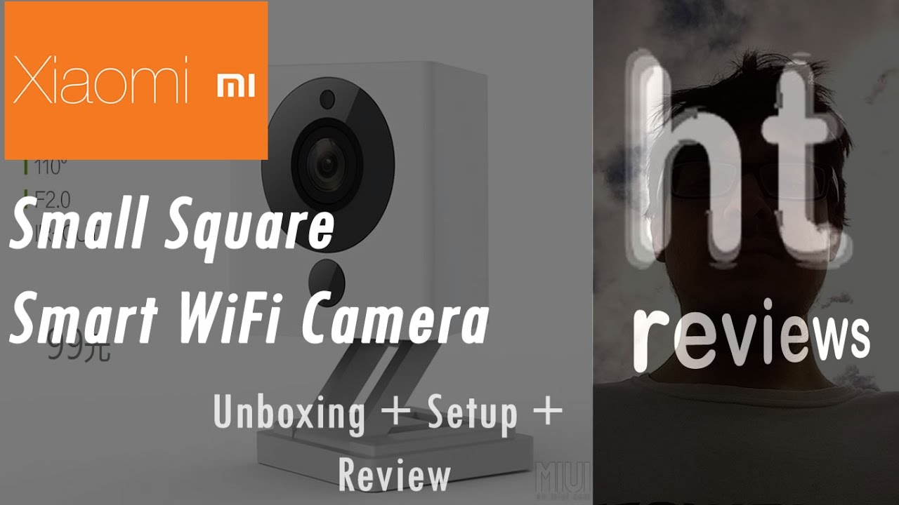 Xiaomi Small Square Smart WiFi Camera 1080p Unboxing Setup Review English LightInTheBox