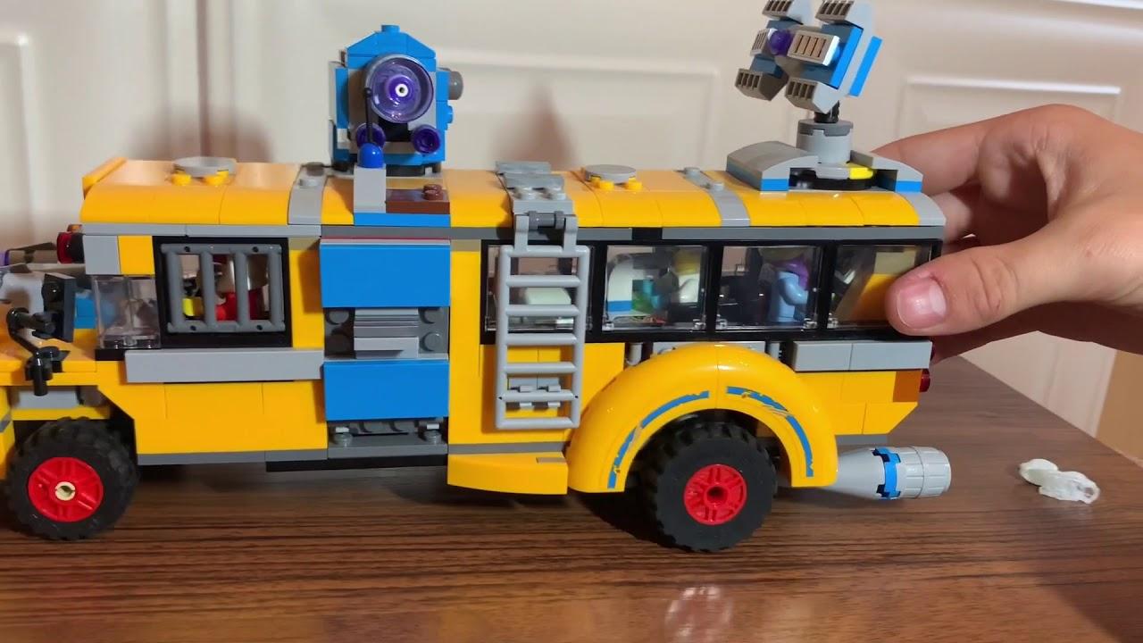 70423 lego hidden side  Лего Хидден Сайд  school bus
