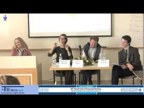 Panel - Legal Theory in Historical Context