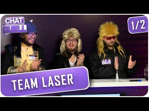 [1/2] Chat Duell mit Nils | Team Laser gegen Team Loser | 15.03.2016