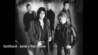 Watch Gotthard Janies Not Alone video
