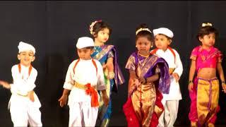 MAULI DANCE DAFFODILS PRESCHOOL VIKHROLI BRANCH KIDS PERFORMANCE