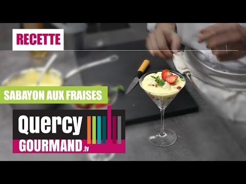 Recette Sabayon aux fraises – quercygourmand.tv
