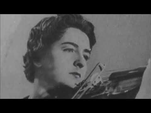 Janine Andrade plays Paganini (arr.Kreisler). La Campanella (1960s, from LP)