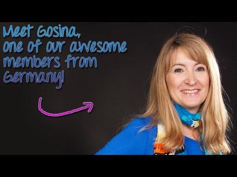 Master English Conversation Member Testimonial - Gosina from Germany