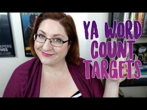 YA Word Count Targets!