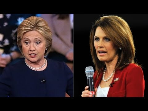 Michele Bachmann Condemns Clinton As Candidate With 'Fascist Values' - Newsy