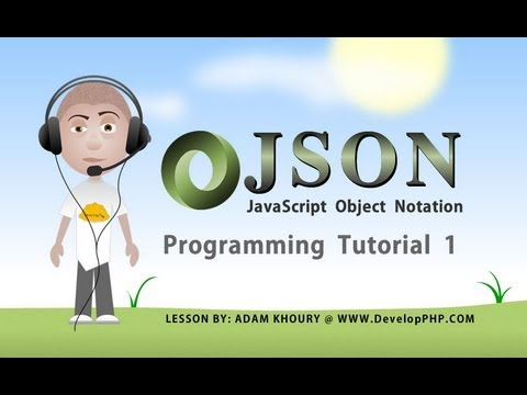 json tutorial for beginners learn how to program part 1 JavaScript