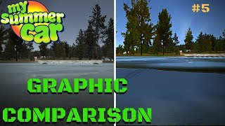 GRAPHIC comparison - VERY LOW vs ULTRA GOLDEN EYE - My Summer Car Test #5