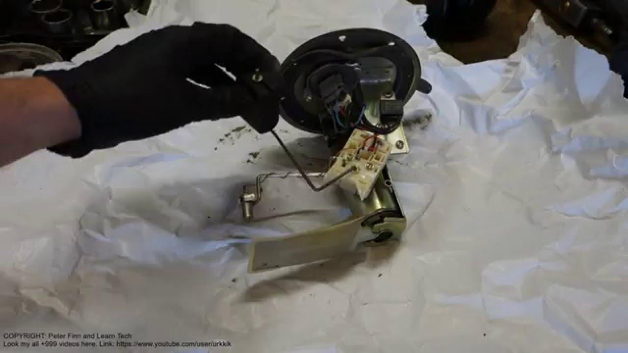 how works toyota corolla fuel tank measurement sensor years 1995 to 2010 [ 1280 x 720 Pixel ]
