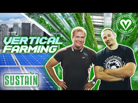 Metropolis Farms First Vegan Certified Solar Powered Vertical Farm - SUSTAIN